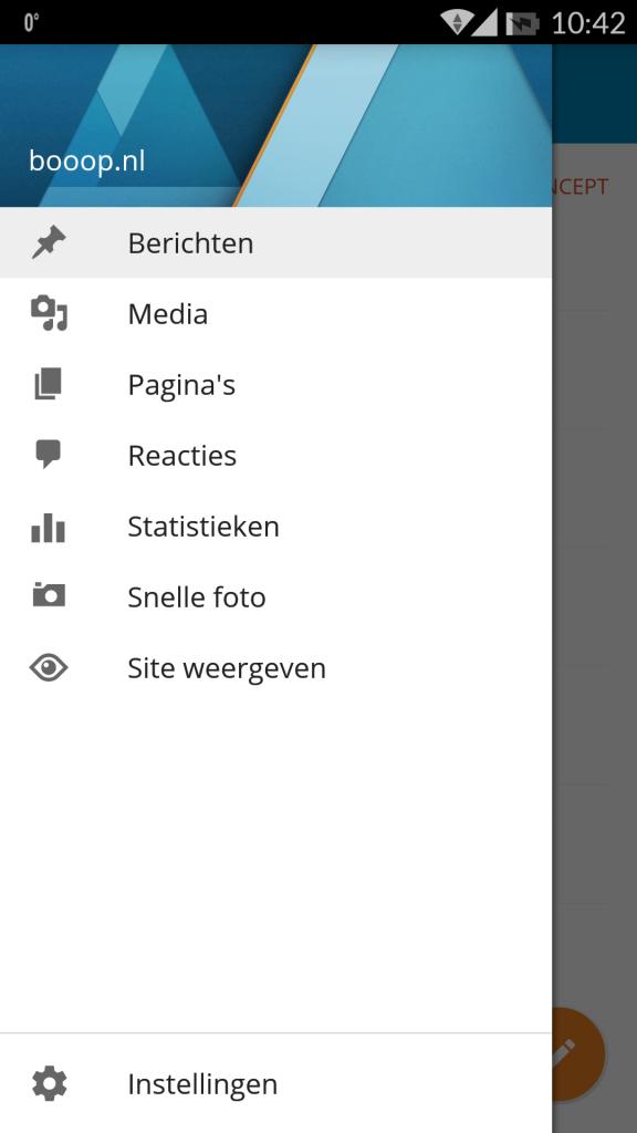WordPress Android App update